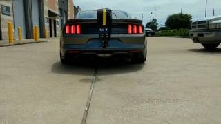 Twin turbo 2 step trans brake launch