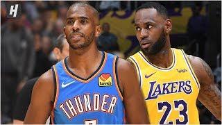 Oklahoma City Thunder vs Los Angeles Lakers - Full Game Highlights   November 19, 2019-20 NBA Season