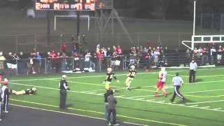 Cody Parrish Minerva High School Football Week 1-2  2013