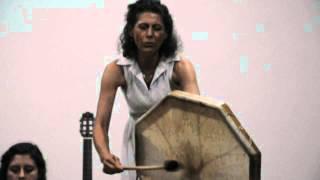 Tambor Xamânico com Silvana da Cunha - SOM DA VIDA.AVI