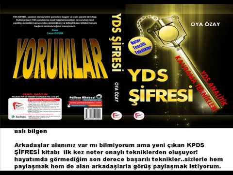 YDS ŞİFRESİ