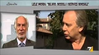"""Lele Mora: """"Silvio, scegli i servizi sociali"""""""
