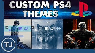 How To Change PS4 Wallpaper/Background To Any Image! 2017!