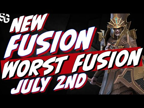 New Fusion July 2nd.| I'm worried, looks bad. Raid Shadow Legends Versulf the Grim