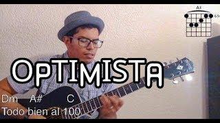 OPTIMISTA - CALONCHO COVER GUITARRA LETRA Y ACORDES