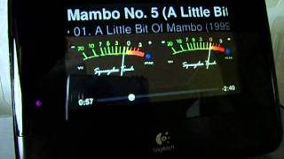 RainbowMeter (VU-Meter) for Squeezebox Touch
