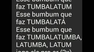 MC kevinho   Tumbalatum letra