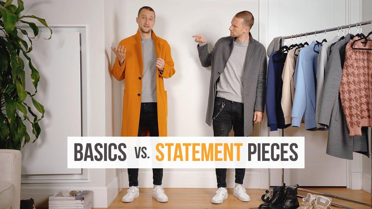 Basics Vs. Statement Pieces | Building a Stylish & Versatile Wardrobe