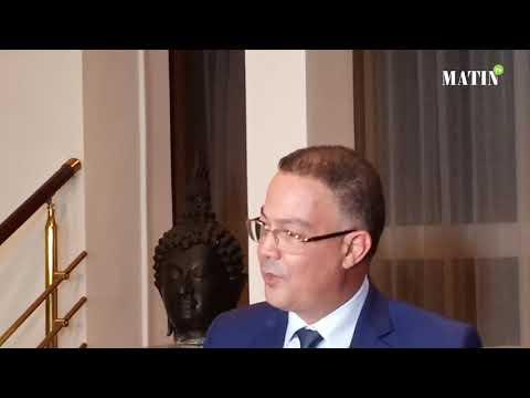 """Video : Fouzi Lekjaa : """"Le Maroc sera au côté du Cameroun pour organiser une CAN d'envergure"""""""