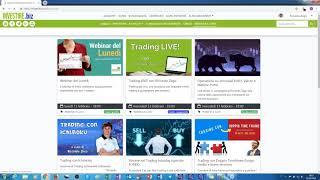 Registrazione Webinar del Lunedi - VALUTE ed INDICI