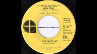 Frankie Beverly's Raw Soul - Color Blind [Gregar] '1971 Deep Funk 45