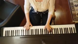 Twin Peaks Theme-Piano Cover by Roxana Belibou