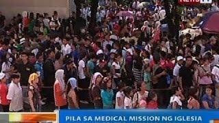 NTG: Pila sa medical mission ng Iglesia ni Cristo, mahaba na