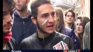 TG CANALE 2_SCUOLA: ANCHE AD ALTAMURA STUDENTI IN PROTESTA CONTRO I TAGLI ALL'ISTRUZIONE