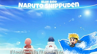 ♕Nightcore♕ ➜「Blue Bird」♪Naruto Shippuden Op 3♪ ✧English Cover✧