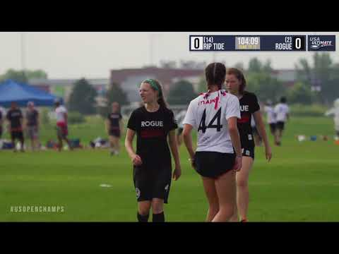 Video Thumbnail: 2019 U.S. Open Club Championships, YCC U-20 Girls' Semifinal: Maine RipTide vs. Washington D.C. Rogue