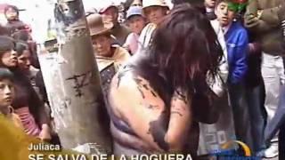 Prostituta e queimada Viva depois de ser vista furtando um Laptop