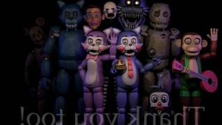 FNAF Join Us For A Bite - Fnac All Animatronic´s Sings