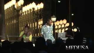 """Medusa The Gangsta Goddess - Cali Frame """"LIVE"""""""
