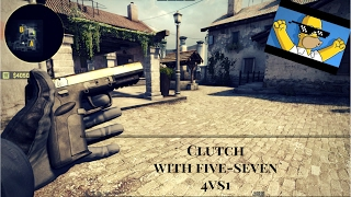 CS:GO - 1vs4 Five-SeveN Clutch by Roicheto[HD]