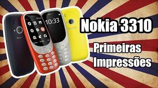 Nokia 3310 - hands-on - primeiras impressões direto da MWC 2017