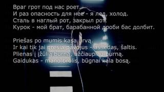[LIETUVIŠKAI] МиМиМи - Dramma [LYRICS]