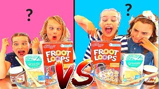 TWIN TELEPATHY CAKE CHALLENGE *hilarious* SIS Vs BRO style with The Norris Nuts