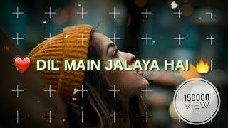 Tu hi khuda tu Mera sansar _ Whatsapp status video - ( Shubham creation )