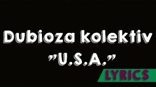 """Dubioza kolektiv """"U.S.A.""""- Teks/Lyrics"""