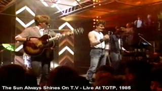 A-ha - The Sun Always Shines On T.V - Live At Totp II, 1985 [HD]