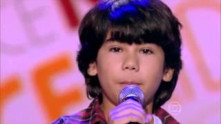 Enzo e Eder cantam 'O menino da porteira' no The Voice Kids - Audição|1ª Temporada