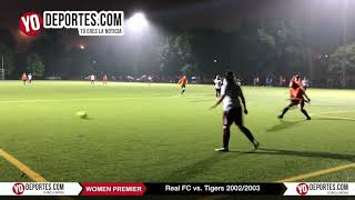 Real FC vs. Tigers Women Premier Academy