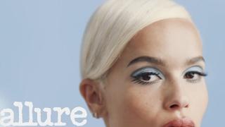 Zoë Kravitz Transforms Into '60s Icon Twiggy | Allure