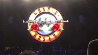 Guns N Roses - Not in This Lifetime Video Intro