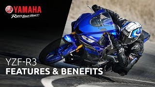 2019 Yamaha YZF-R3 Features & Benefits