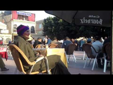 TAROUDANT PART III THE MAIN SQUARE IN THE AFTERNOON.mp4