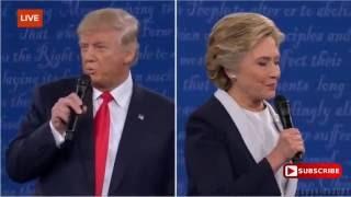 Clinton vs Trump: 'Promiscuous'