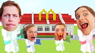 WHICH NORRIS NUT BUILDS THE BEST RESTAURANT in Minecraft Gaming w/ The Norris Nuts