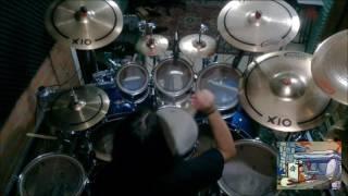 Alefer Reinert - Flintstones 1º Opening (Drum Cover)