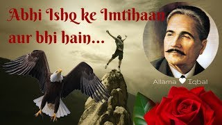 Allama Iqbal Ke Kuch Behtareen Ashaar, The best poetry of Allama Iqbal