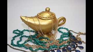 "NARA Tutorial: AIR HARDENING CLAY_how to make  ""ALADDIN LAMP"""