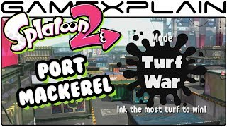 Splatoon 2 - Port Mackerel Turf War Gameplay (Nintendo Switch)