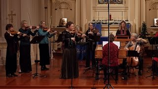 Vivaldi: Winter (the Four Seasons), Largo; Cynthia Freivogel & Voices of Music RV 297 4K UHD