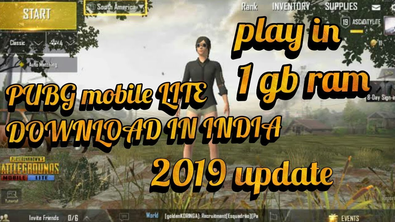 Download thumbnail for PUBG MOBILE LITE HOW TO DOWNLOAD AND