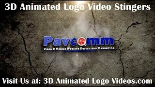 3D Animated Logo Video Impact