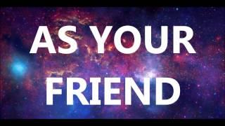 afrojack feat chris brown - as your friend (lyrics)