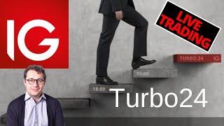 Sessione di trading live con i certificati Turbo24