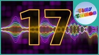 Skip Counting By 17 Song | Counting by 17 to 289 | Tiny Tunes