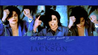 Michael Jackson - They Don't Care About Us (A Cappella) Best Quality Audio/Sound HQ