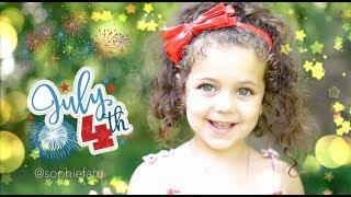 5 year old Sophie Fatu sings Star Spangled Banner